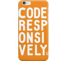 Code Responsively iPhone Case/Skin
