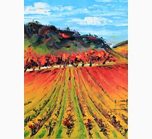 Napa Valley by Lisa Elley. Palette knife painting in oil. Unisex T-Shirt