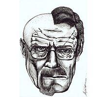 Heisenberg VS Walter White Photographic Print