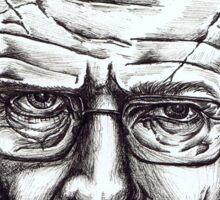 Heisenberg VS Walter White Sticker