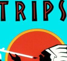 Natural American Trips Sticker