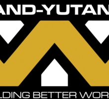 The Weyland-Yutani Corporation Logo Sticker