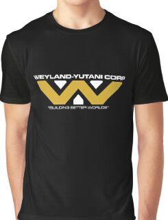 The Weyland-Yutani Corporation Logo Graphic T-Shirt