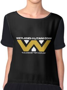 The Weyland-Yutani Corporation Logo Chiffon Top