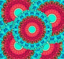 Mystic Circle Mandala - Sharon Cummings  by Sharon Cummings