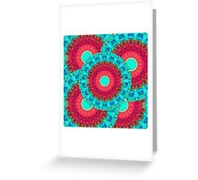 Mystic Circle Mandala - Sharon Cummings  Greeting Card