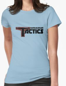 Mandalorian Tactics Podcast Gear Womens Fitted T-Shirt
