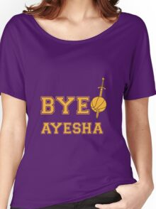 Bye Ayesha Women's Relaxed Fit T-Shirt