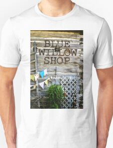 Blue Willow Shop, Door County Wisconsin Unisex T-Shirt