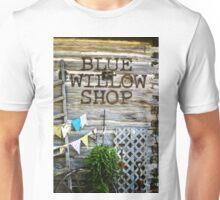 Blue Willow Shop, Door County Wisconsin Unisex T-Shirt