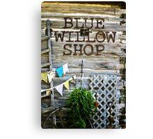 Blue Willow Shop, Door County Wisconsin Canvas Print