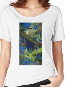 Blue Bellied Roller Women's Relaxed Fit T-Shirt