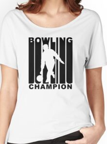 Retro Bowling Champion Women's Relaxed Fit T-Shirt