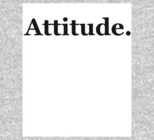 Attitude. Baby Tee