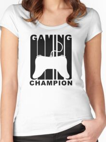 Retro Gaming Champion Women's Fitted Scoop T-Shirt