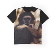 monkey family Graphic T-Shirt