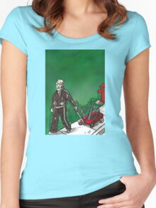 Cell Phone Sal Women's Fitted Scoop T-Shirt