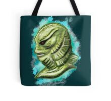 Creature from the black lagoon splatter Tote Bag