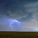 Lightning Clawing Out Of The Sky by Bo Insogna