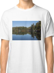 Lakeside Cottage Living - Reflecting on Relaxation Classic T-Shirt