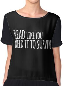 Need it to Survive Chiffon Top