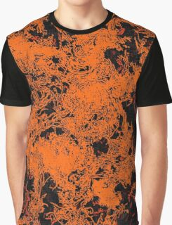 World on fire Graphic T-Shirt