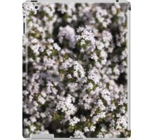 Common thyme (Thumus vulgaris)  iPad Case/Skin