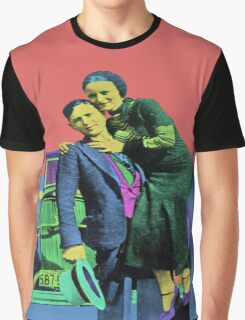 Bonnie and Clyde 2 Graphic T-Shirt