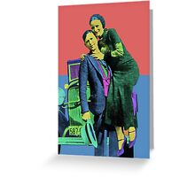 Bonnie and Clyde 2 Greeting Card