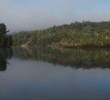 Lakeside Cottage Living - Gentle Morning Fog Sticker