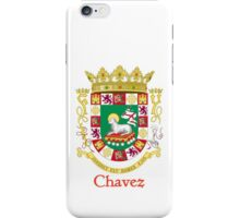 Chavez Shield of Puerto Rico iPhone Case/Skin