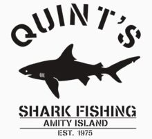 Quint's Shark One Piece - Short Sleeve