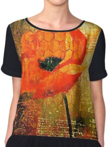 The Poppy Journals...Trapped Chiffon Top