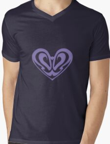 Nouveau Heart Mens V-Neck T-Shirt
