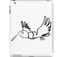 Vogel fliegen lustig  iPad Case/Skin