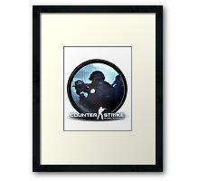 CS:GO CSGO Counter Strike Global Offensive Counter Terrorist CT Framed Print