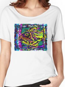 Yellow Fish Women's Relaxed Fit T-Shirt