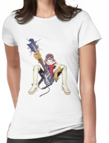 FLCL fooly cooly anime Haruko Haruhara Womens Fitted T-Shirt