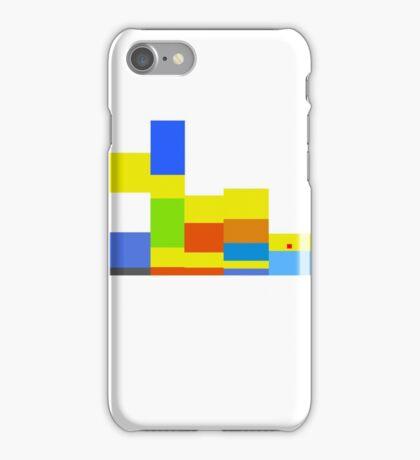 8-bit Simpsons family iPhone Case/Skin