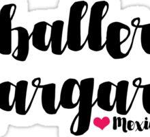 Caballeros y Margaritas Sticker