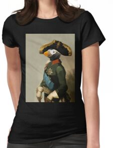 Emperor of Puffins - Anthropomorphic Composite Womens Fitted T-Shirt