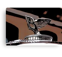 Bentley, B Logo Canvas Print