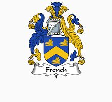 French Coat of Arms / French Family Crest Unisex T-Shirt