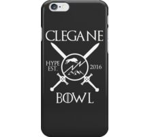 Clegane Bowl Hype Arms Print  iPhone Case/Skin