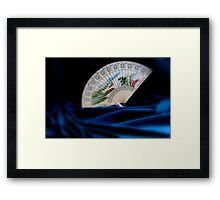 Korean Hand Fan Framed Print