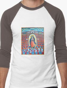 Agave Maria Men's Baseball ¾ T-Shirt
