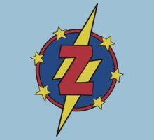 My Little Super Hero - Letter Z Kids Tee