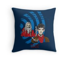 Merlin Theme Throw Pillow