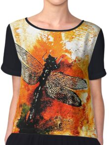 The Nature of Things...The Dragonfly Chiffon Top