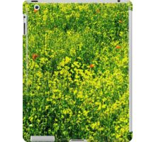 Yellow, Green and Red. iPad Case/Skin